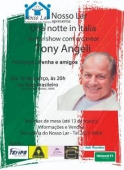 JANTAR BENEFICENTE COM TONY ANGELI