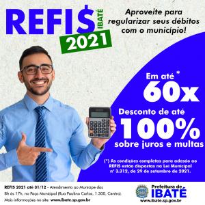 CAMPANHA IBATÉ-SP REFIS 2021